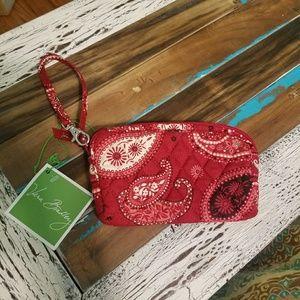 Vera Bradley Mesa Red Wristlet